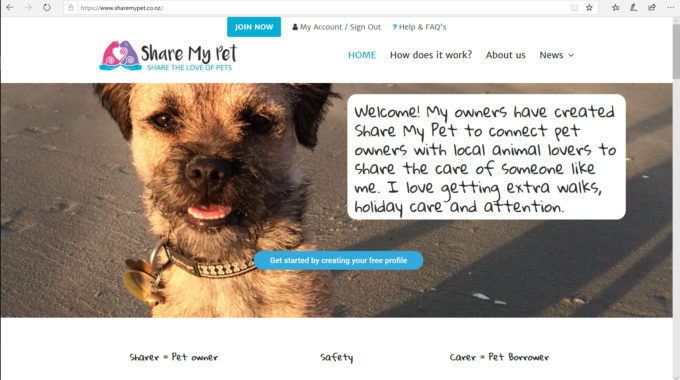 How To Set Up A Pet's Profile